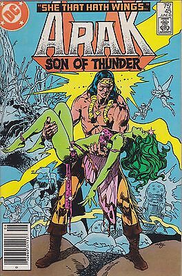 Arak Son Of Thunder #45 Dc 1985 Fn- 5.5
