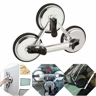 120KG Heavy Duty 3 Rubber Suction Cup Sucker Aluminum Alloy Puller F Glass Floor
