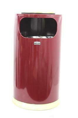 Rubbermaid Commercial Products Ash/Trash Refuse Container, Round 12 Gal