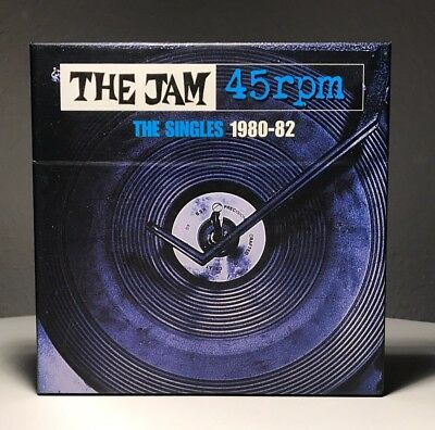 The Jam - 45rpm The Singles 1980-82 / 9 Singles In Original Covers, Ltd. Edition