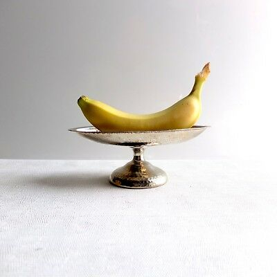 Antique 1920s Silver Ice Cream Banana Split Sundae Cups Hasenbein NYC Set of 4