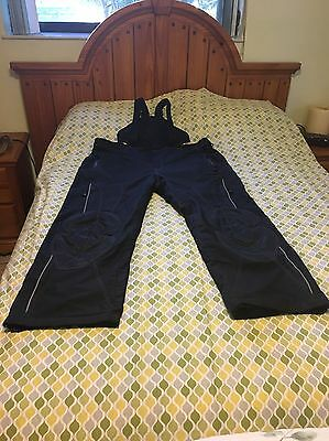 HJC Cordura Snowmobile With BIB Black Pants Weatherproof Men's Size 3XL