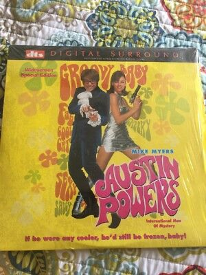 AUSTIN POWERS Laserdisc LD DTS RARE!! Widescreen Special Edition