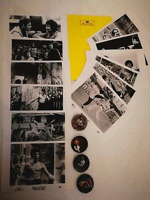 Very Limited Japanese Enter The Dragon Photo Set With Collectors Envelope