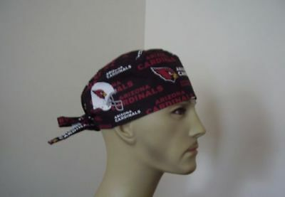 Surgical Scrub Hat/ Cap -NFL- ARIZONA CARDINALS - One size- Men Women