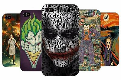 DC Batman Villain Joker Why So Serious Action Hard Back Case Cover for iPhone