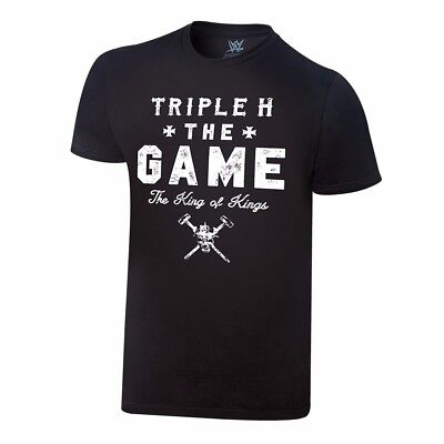 WWE Triple H The Game XL Authentic t shirt New HHH King of Kings