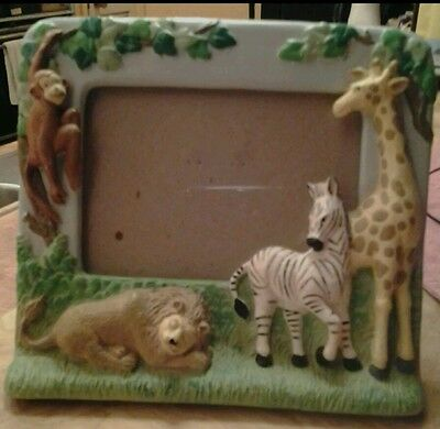Safari  3D Childrens Animal Photo Frame