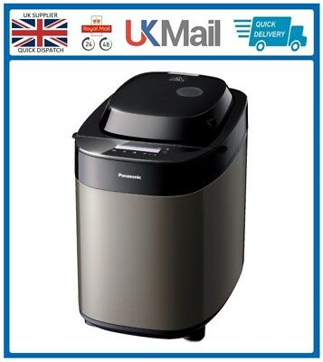 Panasonic SD-ZX2522KXC Bread Maker Black Stainless Steel with 37 Programs NEW