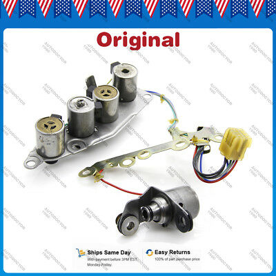 OEM Solenoid Kit Pack 31940-85X01 Fit 00-on Maxima Sentra Altima RE4F04B RE4