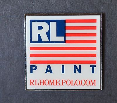 Home Depot Ralph Lauren Paint Vendor Pin NIP