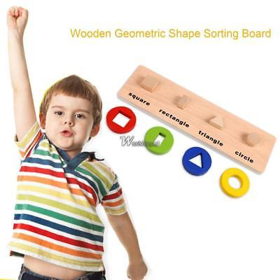 Puzzle Kids Educational Wooden Baby Toy Jigsaw Toys Learning Blocks Figures