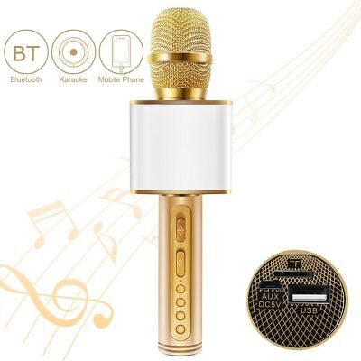 Magic Karaoke Microphone with Speaker for Home KTV Outdoor Party Music Playing &