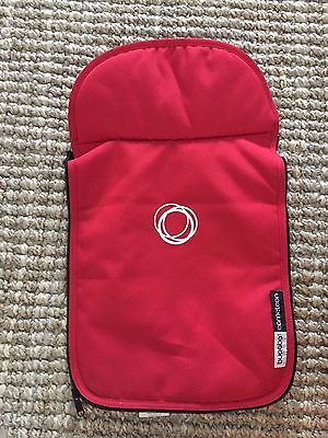 Bugaboo Cameleon Stroller Bassinet Apron Red Canvas Baby Carry Cot Cover