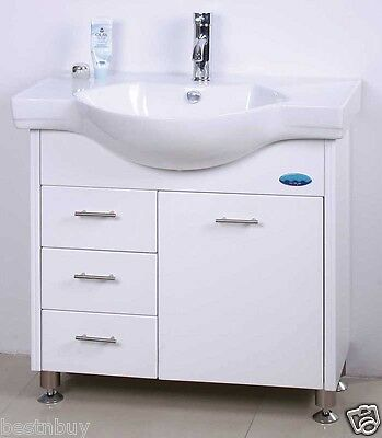 VANITY BATHROOM 800mm UNIT WITH FREE FAUCET New
