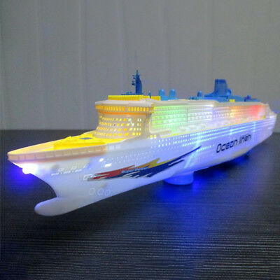 Electronic Ocean Liner Simulation Flashing Whistle Battery Operation Gifts