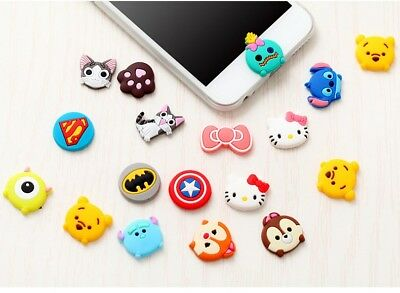 Cartoon Home Button Stickers For iPhone 6S 6S Plus 5S 4S Sticker DIY Phone Decor