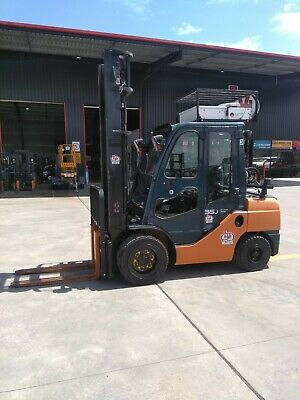 Toyota 32-8Fgj35 3.5T Gas Forklift S/n-31178, Nissan, Hyster, Tcm, Mitsubishi