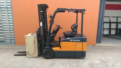 Toyota 7Fbe18 1.8T Electric Forklift S/n-51615, Nissan, Hyster, Tcm, Mitsubishi