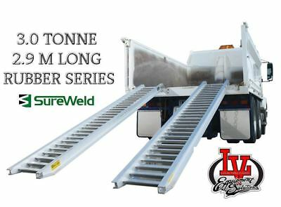 Sureweld 3.0T Loading Ramps 7/3029R Rubber Series