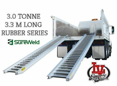 Sureweld 3.0T Loading Ramps 7/3033R Rubber Series