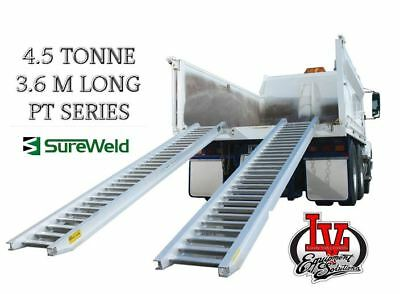 Sureweld 4.5T Loading Ramps 7/4536Ptw Pt Series