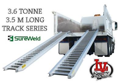 Sureweld 3.6T Loading Ramps 7/3635T Track Series