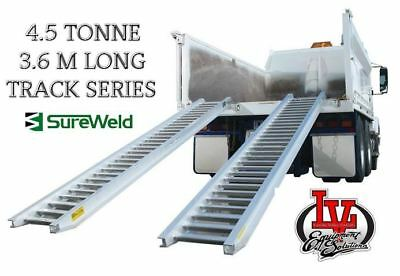 Sureweld 4.5T Loading Ramps 7/4536T Track Series