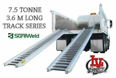 Sureweld 7.5T Loading Ramps 7/7536T Track Series