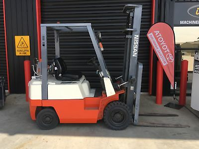 Nissan 1.8T Gas Forklift S/n-, Toyota, Hyster, Tcm, Mitsubishi
