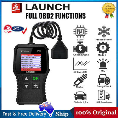 LAUNCH Creader VII+ Auto Diagnostic Scan Tool Full Functions OBD2/EOBD for Ford