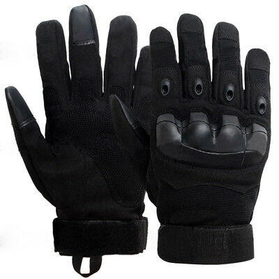Hard Knuckle Touch Screen Military Tactical Gloves Airsoft Outdoor Full Finger