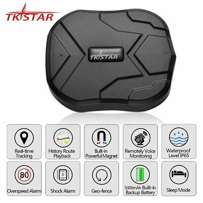 Car GPS Tracker Vehicle Locator Waterproof Magnet Standby Real Time LBS Position