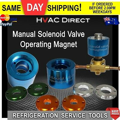 Solenoid Service Magnet/ Solenoid Valve Troubleshooting Magnet Fits all sizes