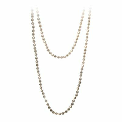 """1920's Charleston 72"""" Flapper Pearls Necklace"""