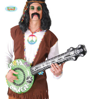 Hippie Style 1960'S Inflatable Banjo Styles May Vary From Image