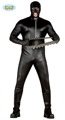 Gimp Rubber Effect Suit ~ Large Adult Mens Halloween Stag Do Costume