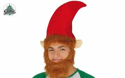 Novelty Elf Hat With Ears And Beard