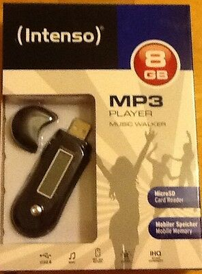 Intenso Music Walker Mp3 8 GB Black