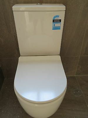 Toilet  Suite   Ceramic Back To Wall Soft Close Seat