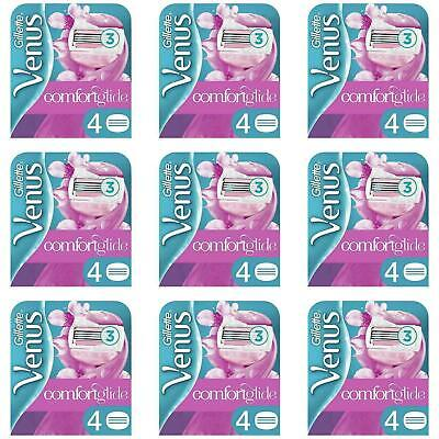 36 x Gillette Venus Spa Breeze Womens Replacement 3-Blade Razor Blade Cartridges