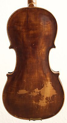 old violin 4/4 geige viola cello fiddle label ARTHUR BOWLER