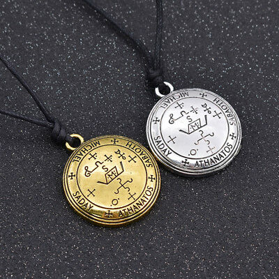 Raphael Angel Necklace Pendant Good Luck Talisman Men's Jewelry Gifts Amulet