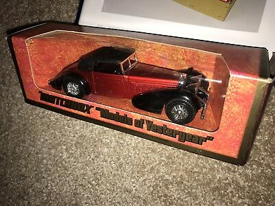 Matchbox Models of Yesteryear Y-17 Hispano Suiza 1938 Rot Mint Boxed