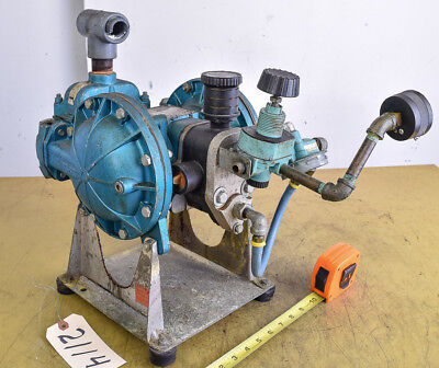 Double Diaphragm Pump; Warren Rupp (CTAM #2114)