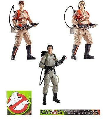 """Ghostbusters Erin Gilbert Abby Yates Ray Stanz Action Figure 6"""" Choose Character"""