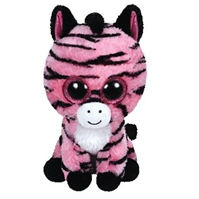 Ty Mini Beanie Boos Zoey the Zebra Collectable New