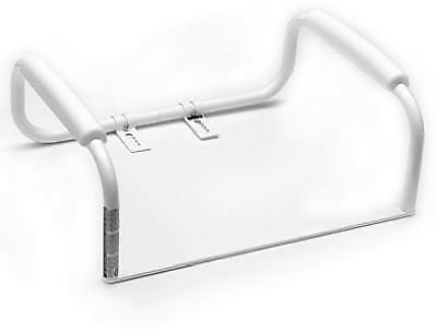 Liberty Hardware DF575 Toilet Seat Safety Bar, White