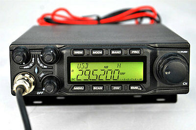 Brand New ANYTONE AT6666 All Mode 10 meter mobile Radio AM FM USB LSB CW PA