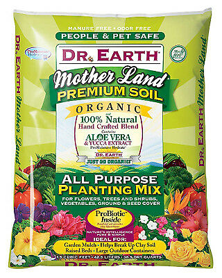 Dr Earth 729 Planting Mix, All-Purpose, 1.5-Cu. Ft.